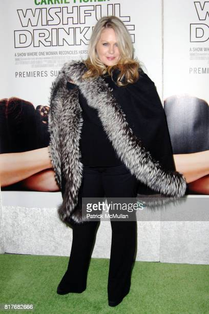 Beverly D'Angelo attend Special Premiere of HBO's Documentary WISHFUL DRINKING at Linwood Dunn Theatre on December 7th 2010 in New York City