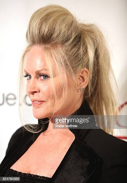 Beverly D'Angelo attending the Drama League's 28th Annual Musical Celebration of Broadway honoring Kristin Chenoweth at the Pierre Hotel in New York...