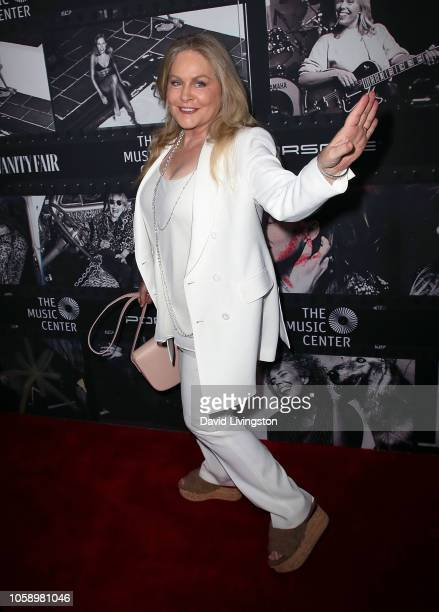 Beverly D'Angelo attends JONI 75 A Birthday Celebration Live at the Dorothy Chandler Pavilion on November 7 2018 in Los Angeles California