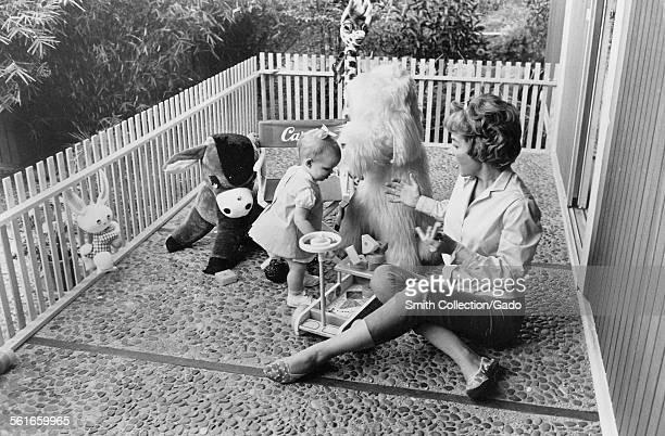 Beverly Garland and Carrington Garland 1967