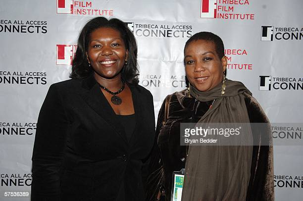 Beverly Gordon and JJ Goldberger attend the TAA Closing Night Party during the 5th Annual Tribeca Film Festival May 4, 2006 in New York City.