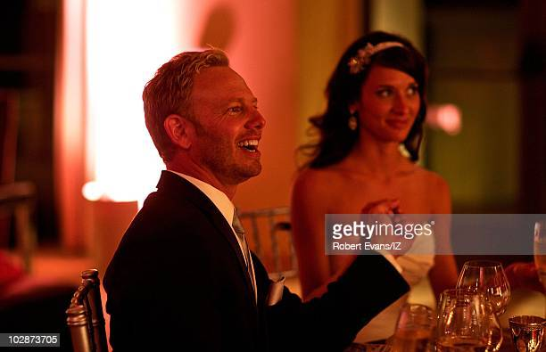 **EXCLUSIVE** Beverly Hills 90210Õs Ian Ziering and Erin Ludwig during their wedding celebration held at the Pelican Hill Resort on May 28 2010 in...