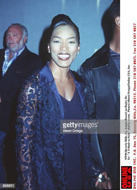 Beverly Hills Ca Angela Bassett on Rodeo Dr for A Tribute to Style charity event