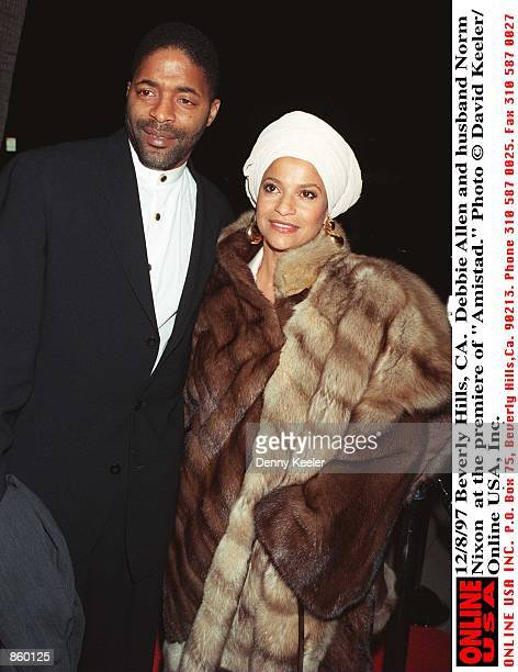 Beverly Hills CA Debbie Allen and husband Norm Nixon the premiere of Amistad Photo by David Keeler/Online USA Inc