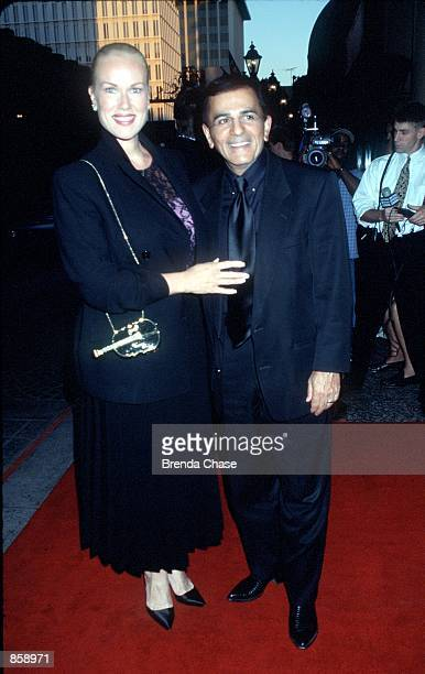 Beverly Hills CA Jean and Casey Kasem at the Beverly Wilshire Hotel during Reverend Jesse Jackson's visit in LA to celebrate a special 58th birthday...