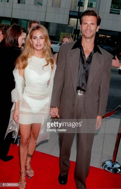 Beverly Hills Ca Lorenzo Lamas With His Wife Shauna At The Premiere Of The Muse