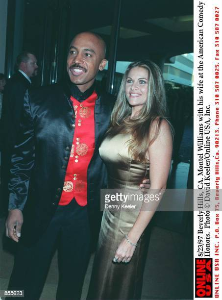 Beverly Hills CA Montel Williams with his wife Grace at the American Comedy Honors Photo by David Keeler/Online USA Inc