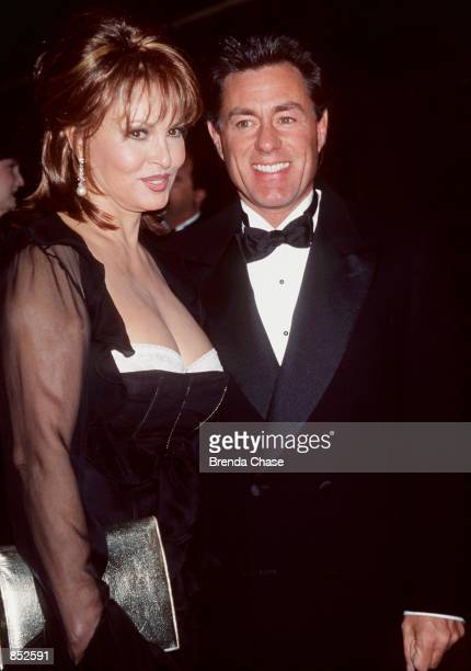 Beverly Hills CA Raquel Welch with her fiance Richard Palmer at the 49th Annual Eddie Awards