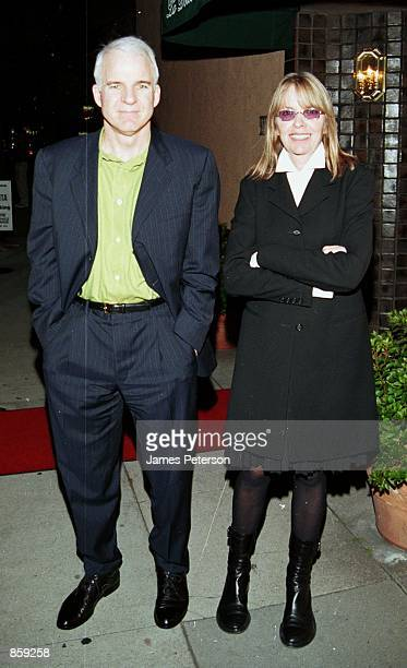 Beverly Hills CA Steve Martin and Diane Keaton leaving La Dolce Vita Restaurant in Beverly Hills Photo by James Peterson/Online USA Inc