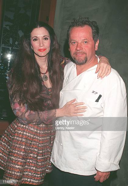 Beverly Hills CA Wolfgang Puck with his wife at Spago restaurant Photo David Keeler/Online USA Inc