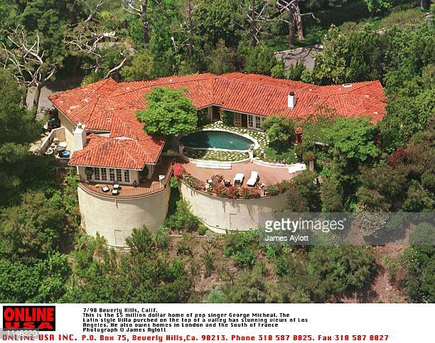 Beverly Hills CaGeorge Michael's 3650 sq ft fivebedroom villa with ritzy 90210 zip code is valued at $2 million and is just minutes from the park...