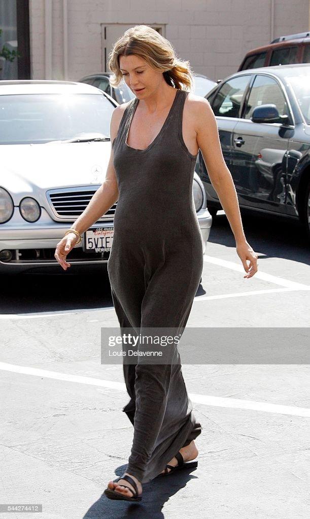 Ellen pompeo naked pregnant