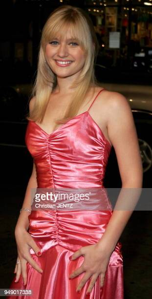 Beverly Hills Carly Schroeder attends the Warner Bros World Premiere of 'Firewall' held at the Grauman's Chinese Theatre in Hollywood California...