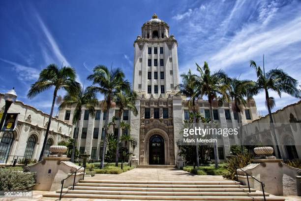 beverly hills city hall - town hall government building stock pictures, royalty-free photos & images