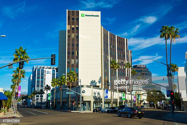 Beverly Hills' Golden Triangle at Wilshire and Santa Monica boulevards