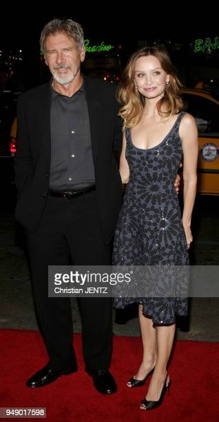 Beverly Hills Harrison Ford and Calista Flockhart attend the Warner Bros World Premiere of 'Firewall' held at the Grauman's Chinese Theatre in...