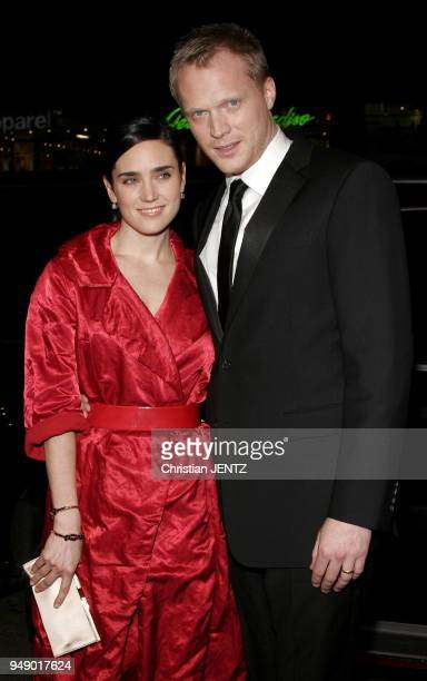 Beverly Hills Jennifer Connelly and Paul Bettany attend the Warner Bros World Premiere of 'Firewall' held at the Grauman's Chinese Theatre in...