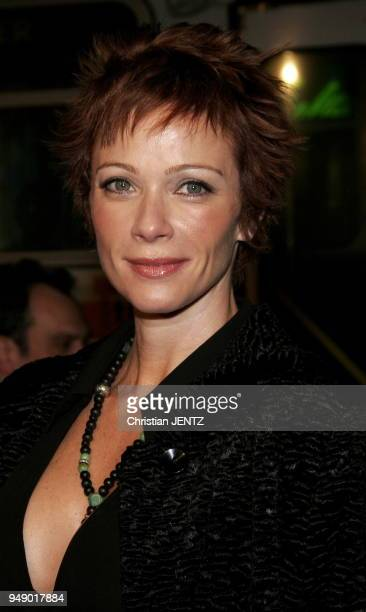 Beverly Hills Lauren Holly attends the Warner Bros World Premiere of 'Firewall' held at the Grauman's Chinese Theatre in Hollywood California United...