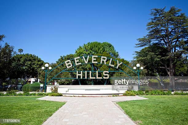 beverly hills - beverly hills imagens e fotografias de stock
