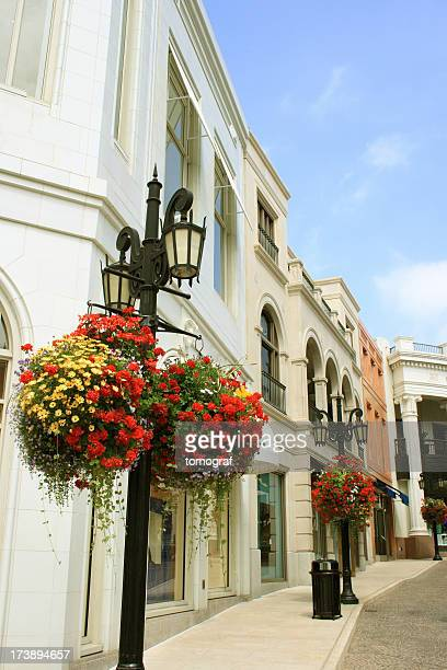 beverly hills shops - beverly hills california stock pictures, royalty-free photos & images