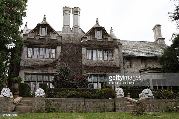 Playboy Magazine publisher Hugh Hefner's property the Playboy Mansion is pictured 11 January 2007 in Beverly Hills AFP PHOTO/GABRIEL BOUYS
