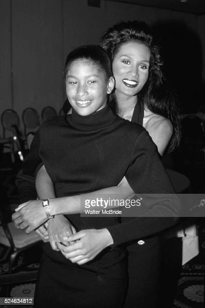 Beverly Johnson and daughter Anansa Sims on March 1 1990 in New York City