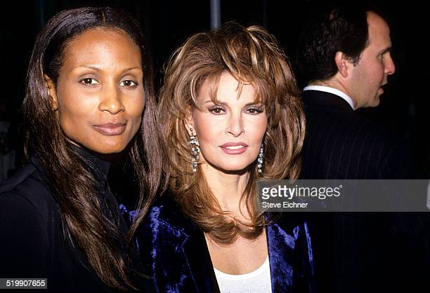 Beverly Johnson and Raquel Welch attends Batoto Yetu Rites of Spring benefit New York April 21 1994