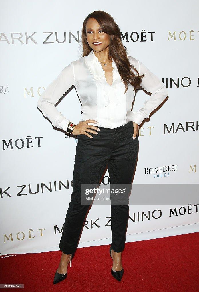 Beverly Johnson arrives at Mark Zunino Atelier opening held on January 7, 2016 in Beverly Hills, California.