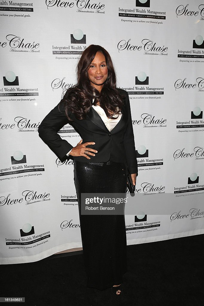 Beverly Johnson arrives at the 19th Annual Steve Chase Humanitarian Awards Gala at the Palm Springs Convention Center on February 9, 2013 in Palm Springs, California.