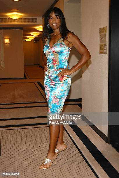 Beverly Johnson attends An Evening with Ivana Trump hosted by Nikki Haskell at Nikki Haskell's Penthouse on July 19 2005 in Beverly Hills CA