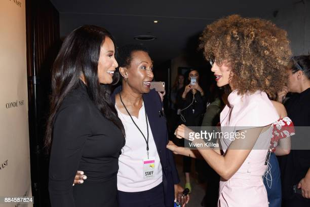 Beverly Johnson Debra Welteroth and Elaine Welteroth attend The Teen Vogue Summit LA Keynote Conversation with A Wrinkle In Time director Ava...