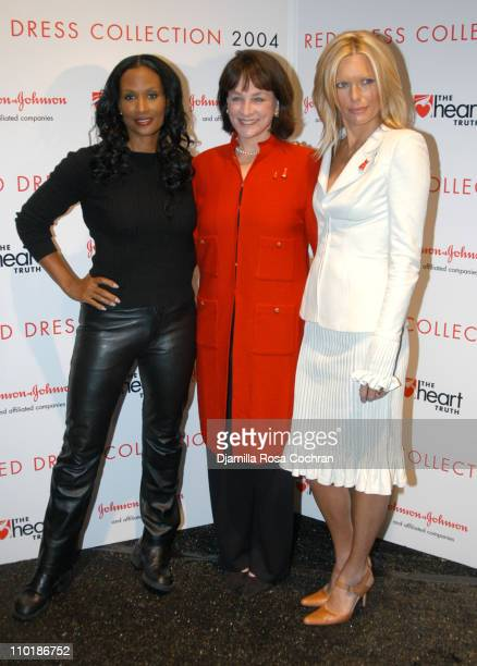 Beverly Johnson Dr Nancy Snyderman and Patti Hansen