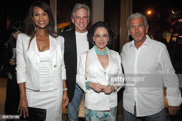 Beverly Johnson Micky Berke Nikki Haskell and David Sternstein attend Ruinart supports Russian contemporary cultureAn evening in honour of the...