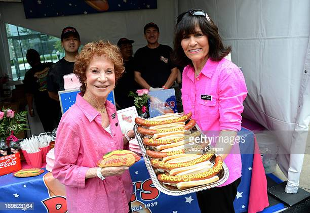 Beverly Pink and Gloria Pink of Pink's Taco attend the Elizabeth Glaser Pediatric AIDS Foundation's 24th Annual A Time For Heroes at Century Park on...