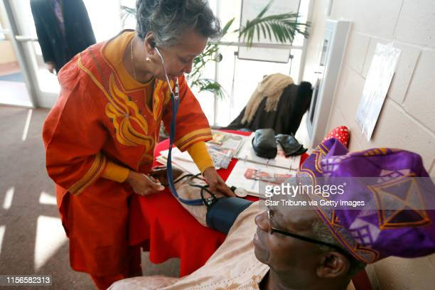 Beverly Propes a member of Fellowship Missionary Baptist Church spent Sunday Feb 9 2014 checking church member Abe Kuku blood pressure after morning...