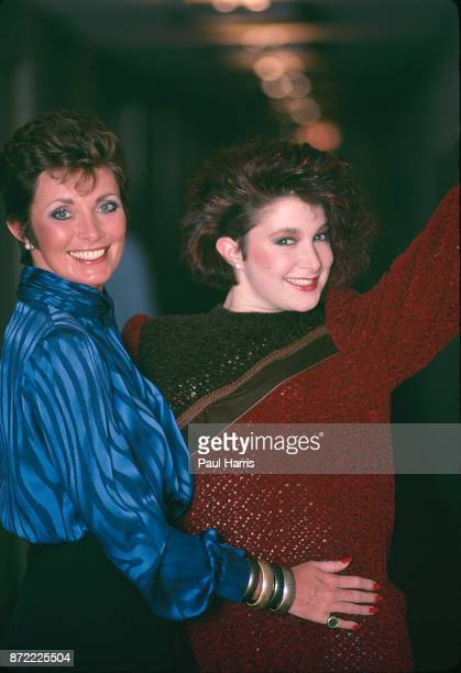 Beverly Sassoon and Catya Sassoon Wild Child daughter of Hairdresser Vidal Sassoon Dies at a hotel March 4 1983 in Beverly Hills California