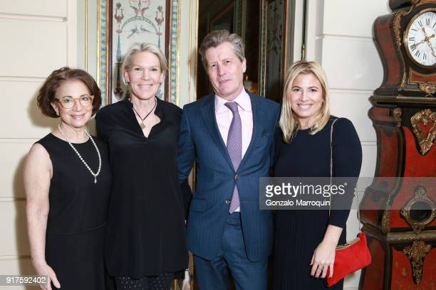 Beverly Schrieber Jacoby Anna Gerling Matthew Gerling and Elizabeth Jacoby during the Susan Gutfreund Hosts UN Women For Peace Association Reception...