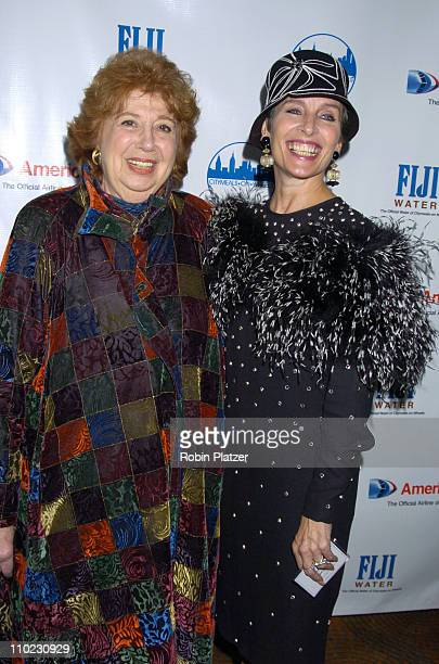 Beverly Sills and Andrea Marcovicci during The 18th Annual CitymealsonWheels 'Power Lunch For Women' Arrivals at The Rainbow Room in New York City...