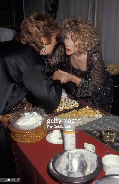 Beverly Sills and Joan Rivers during 7th Annual Gourmet Gala to Benefit The March of Dimes at Plaza Hotel in New York City New York United States