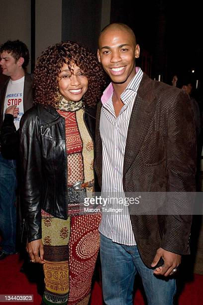 Beverly Todd and Mehcad Brooks during 21st Annual Santa Barbara International Film Festival The Riviera Award Honoring Philip Seymour Hoffman...
