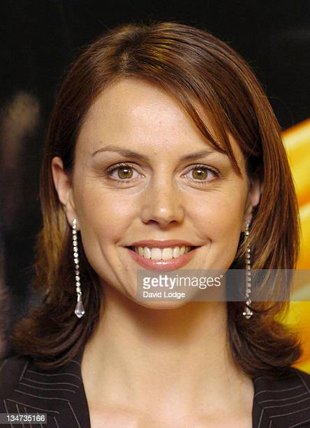 Beverly Turner during 2005 RTS Television Sports Awards at Hilton Hotel in London, Great Britain.