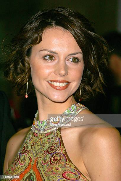 Beverly Turner during British Fashion Awards 2004 - Arrivals at Victoria and Albert Museum in London, Great Britain.