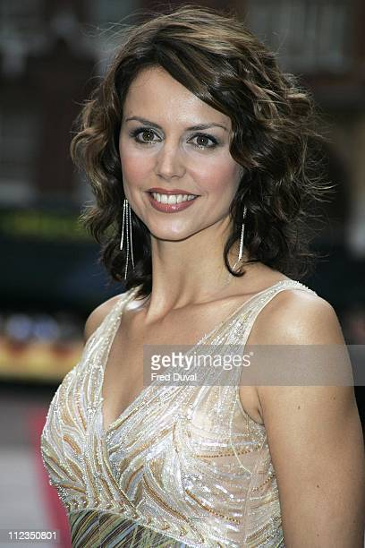 """Beverly Turner during """"Goal!"""" London Premiere - Arrivals at Odeon Leicester Square in London, Great Britain."""