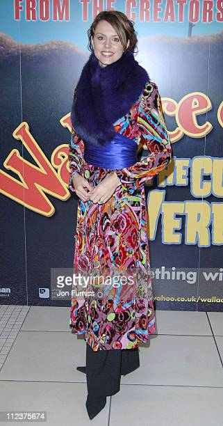 """Beverly Turner during """"Wallace & Gromit: The Curse of the Were-Rabbit"""" London Charity Premiere - After Party at Trocadero Centre in London, Great..."""