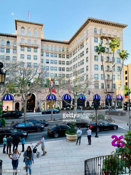 beverly wilshire hotel in beverly hills, california, usa - beverly hills stock pictures, royalty-free photos & images