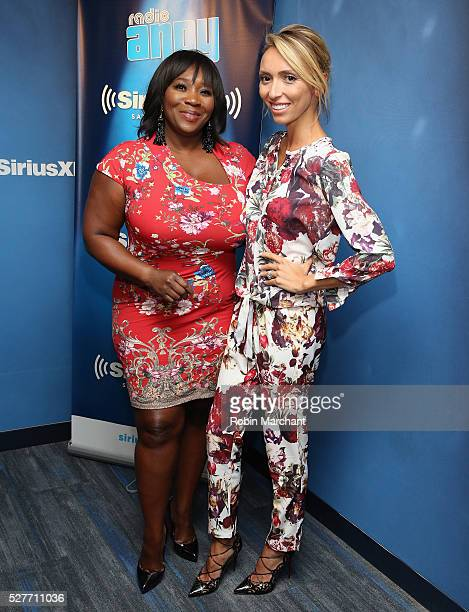 Bevy Smith and Giuliana Rancic visit 'Bevelations' on SiriusXM's Radio Andy on May 03 2016 in New York New York
