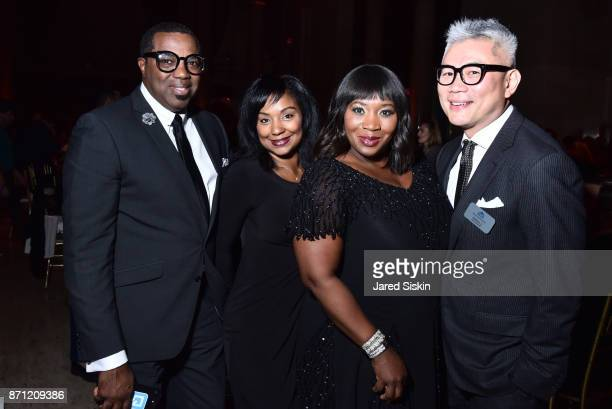 Bevy Smith and guests attend HetrickMartin Institute's 2017 'Pride Is' Emery Awards at Cipriani Wall Street on November 6 2017 in New York City