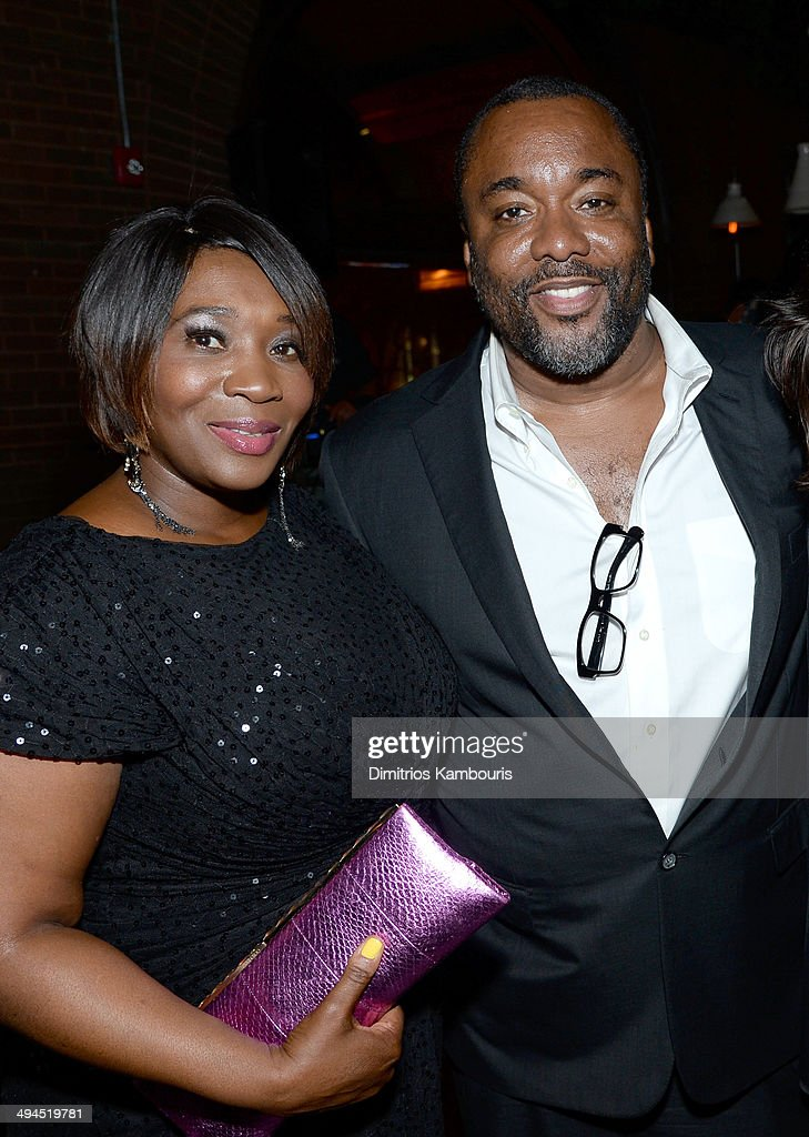 Bevy Smith and Lee Daniels attend the 2014 CAA Upfronts party on May 12, 2014 in New York City.