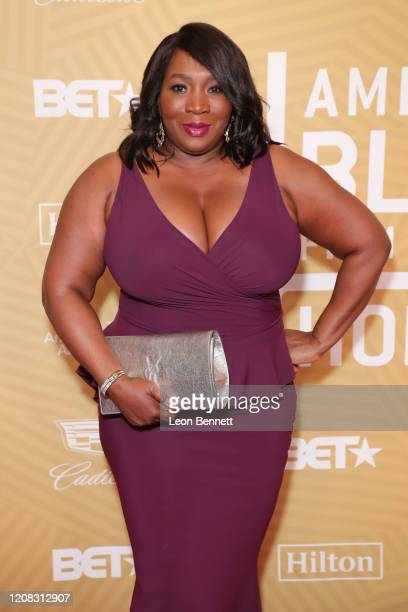Bevy Smith attends American Black Film Festival Honors Awards Ceremony at The Beverly Hilton Hotel on February 23 2020 in Beverly Hills California