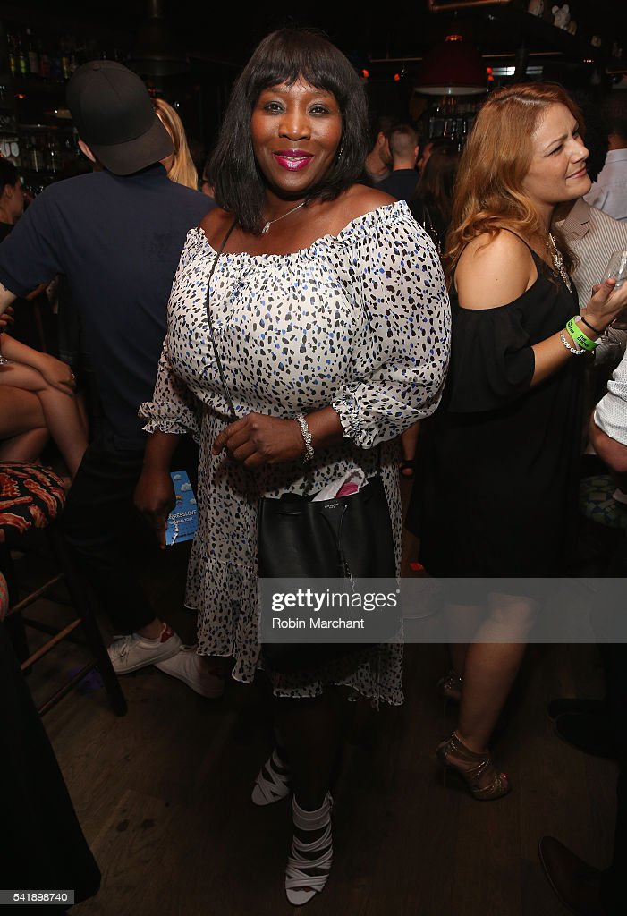 Bevy Smith attends American Express Launches National LGBTQ PRIDE Campaign To 'Express Love' at The Spotted Pig on June 20, 2016 in New York City.